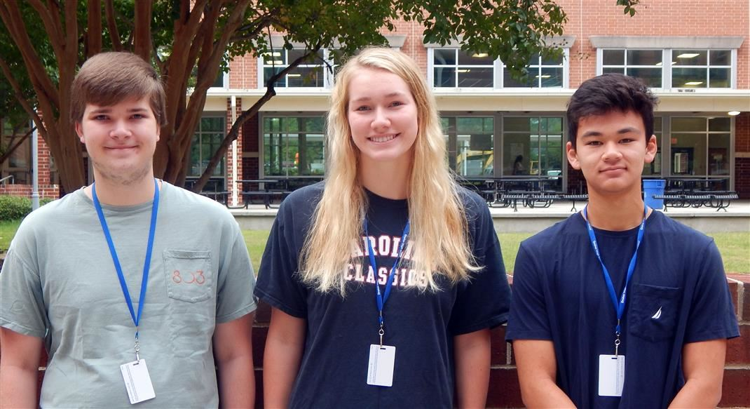 Dreher is Proud of our Three National Commended Scholars